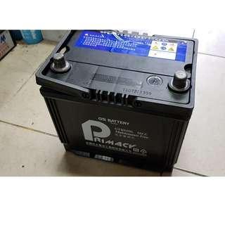 (二手中古電池) PRIMACY 55D23L-MFZ 免保養汽車電池 數值漂亮,品項優