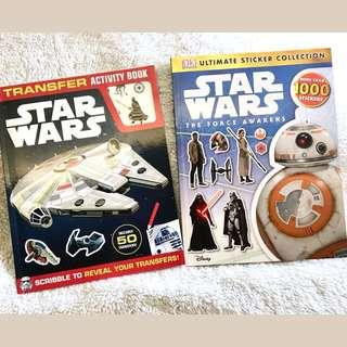 StarWars Transfers/Activity & Sticker Books
