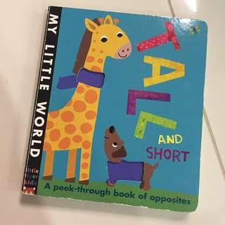 Baby book - learn the opposite