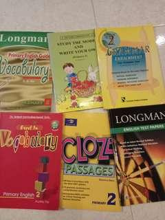 🚚 Assessment Books primary 2 english 6 for sgd4