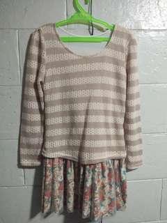 Pre-loved dress/ long blouse