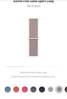 🍏 WATCH Sport Loop PINK SAND 42mm