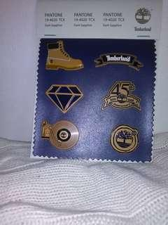 Authentic timberland patch