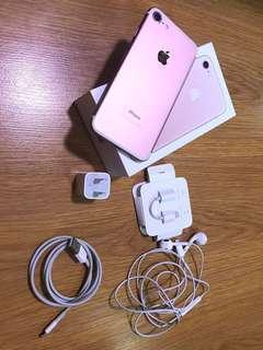 Iphone 7 Rose Gold 32gb FU