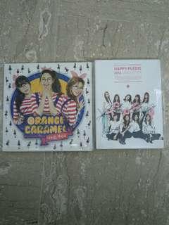 [SIGNED] After School & Orange Caramel Signed Albums