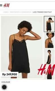 Lingerie/baju tidur H&M