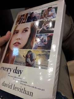 Books for sale! Everyday by David Levithan