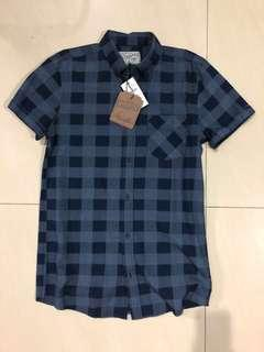 Cotton On Short Sleeve Checked Shirt