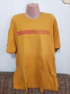 Preloved korean tees shirt dress