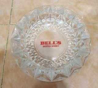 Bell's scotch whisky ashtray