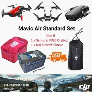 DJI Mavic Air Standard Set/Local DJI 18 Months Warranty!