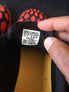 Men's Adidas Predito futsal boots jn sz 5.5 US