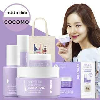 Cocomo X Hddn Lab Limited Edition Skin Saviour Concentrate Set *Price reduced