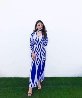 Bella Hadid Kaftan Dress 88th Atelier