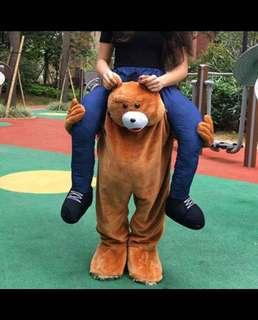 Rent Halloween Bear / Horse Carry Outfit Suit Costume