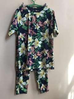 Floral Pair - Tops and Pants, cool and comfy
