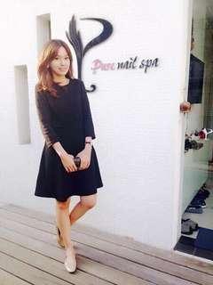 🚚 小脆黑色洋裝