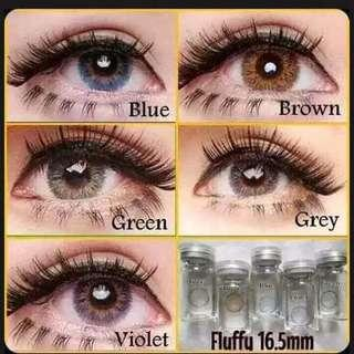 Pretty contact lens (power available)
