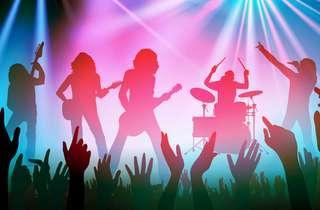 Full live band