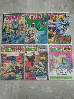Detective Comics #328, 337, 342, 354, 360, 364 - DC Comics