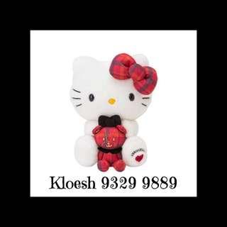 Hello Kitty Plush Toy Anniversary Collection