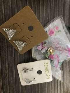 Assorted earrings brand new