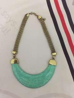 tosca stone necklace