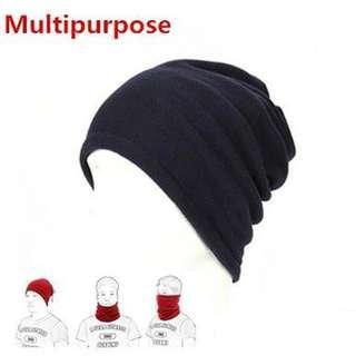 cc432fa1608510 1PC 3 in1 Winter Unisex Women Men Sports Thermal Fleece Scarf Neck Warmer  Face Mask Beanie