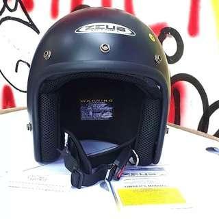 Helm halface retro bogo zeus 385c