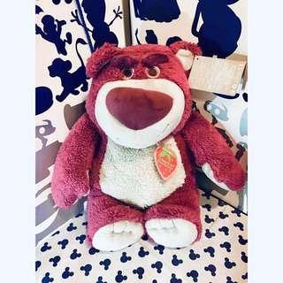 🚚 迪士尼 樂園 熊抱哥 草莓熊 大隻