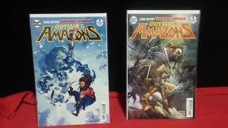 Odyssey Of the Amazons #1A, #1B, #2