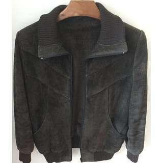 *Vintage* Leather Jacket in Brown