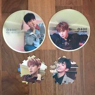 [🦊WTT/WTS] Wanna one ipu mirror card & tazo