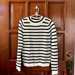 Sweater - Black x White