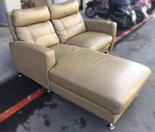 雙人L型沙發
