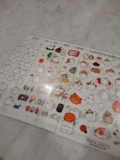 [WTS FAST]Bts and cartoon stickers