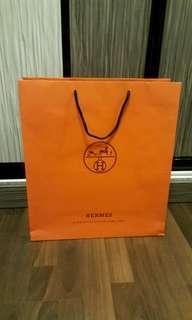 HERMES Large Paperbag