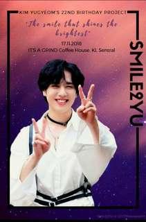 GOT7 Yugyeom -Smile2Yu Fankit-