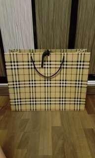 BURERRY Large Paperbag
