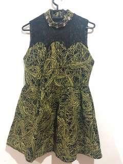 preloved dress black