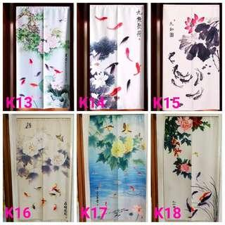 85X150cm In Stock Door Curtain Japanese Partition FengShui
