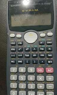 Casio scientific calculator 570