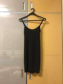 Sexy back little black dress