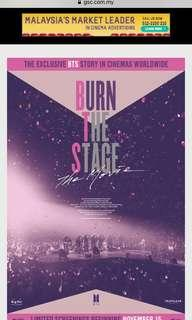WTB BURN THE STAGE TICKET
