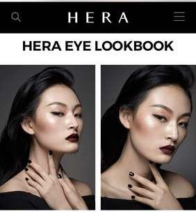 BRAND NEW HERA (HERA X BLINDNESS) Shadow Duo Satin in #21 (Sparkling Peach / Copper Rose)