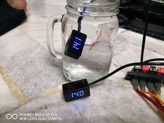 Voltmeter water proof