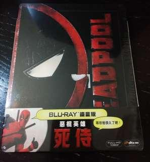 【台版鐵盒】Bluray MARVEL 死侍Deadpool