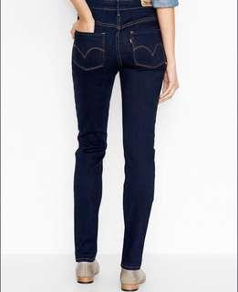 LEVI's Mid Rise Skinny Jeans - Soulful Dark Size 27