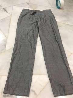 Grey long pants by Versace