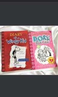 WIMPY KID & DORK DIARIES